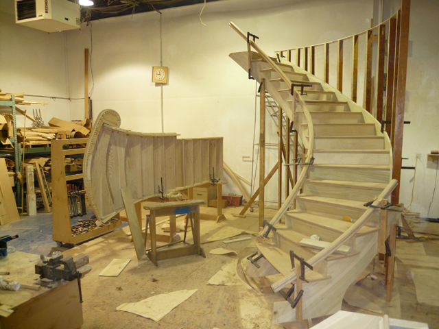 Staircase builder long island long island custom stairs for Custom stair