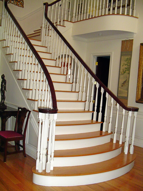 Long Island Custom Stairs, Home Staircase Long Island, Custom Stair Building